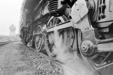 ARH NL Mellin 01-016/0020, Betriebswerk (Bw) der Deutschen Bahn in Lehrte, vor 1968