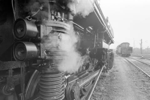 ARH NL Mellin 01-016/0021, Betriebswerk (Bw) der Deutschen Bahn in Lehrte, vor 1968