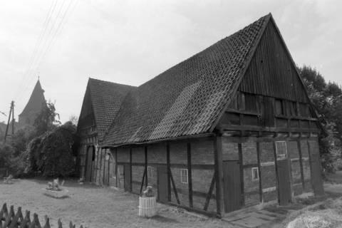 ARH NL Mellin 01-016/0023, Baudenkmal Dorfstraße 66 in Isernhagen K. B. vor seiner Sanierung, um 1978