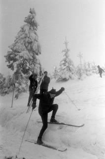 """ARH NL Mellin 01-017/0009, Ausflug des SkiClub """"Winterfreuden"""" in den Harz, ohne Datum"""