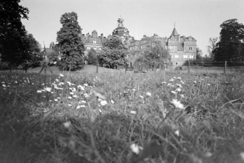ARH NL Mellin 01-017/0019, Gartenseite des Schloss Bückeburg, ohne Datum