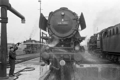 ARH NL Mellin 01-018/0008, Betriebswerk (Bw) der Deutschen Bahn in Lehrte, vor 1968