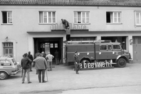 ARH NL Mellin 01-024/0009, 100 Jahr Feier der Freiwilligen Feuerwehr Burgdorf, 1971