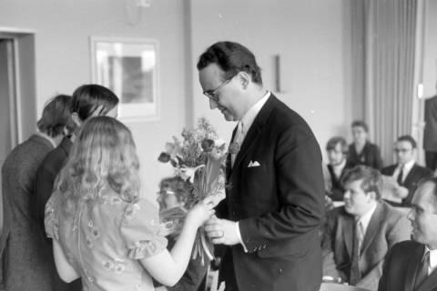 ARH NL Mellin 01-025/0013, Ernennung von Joachim Schlossarek zum Rektor der Realschule, Burgdorf, ohne Datum