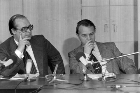 ARH NL Mellin 01-027/0018, Pressekonferenz?, zwischen 1977/1978