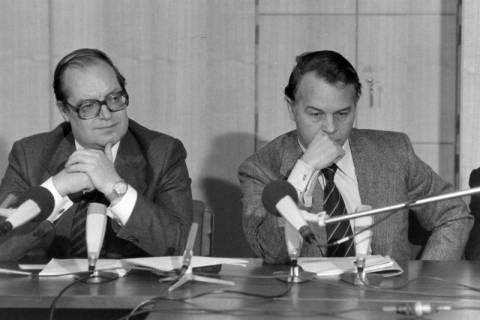 ARH NL Mellin 01-027/0019, Pressekonferenz?, zwischen 1977/1978