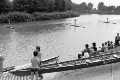 """NL Mellin 01-036/0007, """"Ruderverein für das Große Freie - Lehrte/Sehnde"""" (RGF) am Mittellandkanal, Sehnde, ohne Datum"""