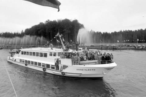 NL Mellin 01-043/0009, Eröffnung des Elbe-Seitenkanals (ESK), 1976