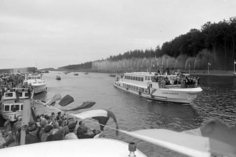 NL Mellin 01-043/0010, Eröffnung des Elbe-Seitenkanals (ESK), 1976