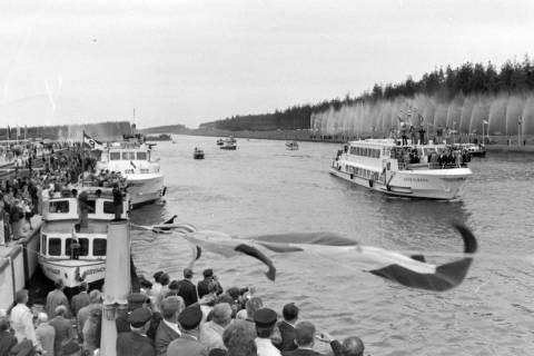 NL Mellin 01-043/0011, Eröffnung des Elbe-Seitenkanals (ESK), 1976