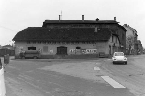 ARH NL Mellin 01-043/0017, Einmündung Poststraße in die Burgdorfer Straße in Lehrte, vor 1980