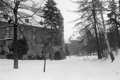 """NL Mellin 01-051/0009, Kaiserpfalz und Pfalzkapelle """"St. Ulrich"""", Goslar, ohne Datum"""