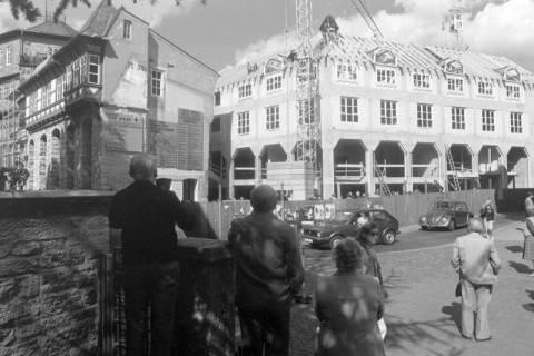 ARH NL Mellin 01-053/0020, Richtfest der Tagungsstätte Hotel Achtermann in Goslar, nach 1974