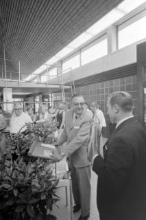 ARH NL Mellin 01-057/0018, Einweihung des Hallenbades in Burgdorf, 1970