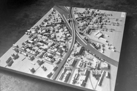 ARH NL Mellin 01-058/0017, Stadtplanerischen Entwurf zur Umgestaltung der Innenstadt von Lehrte, ohne Datum