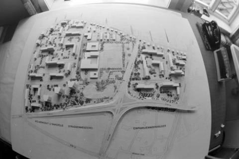 ARH NL Mellin 01-063/0025, Planmodell für die Kreuzung B443 und Dorfstraße/Marktstraße (ehemalige B188) in Burgdorf und das Gebiet um die Astrid-Lindgren Grundschule, ohne Datum
