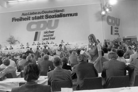 NL Mellin 01-070/0021, 24. Bundesparteitag der CDU, 1976