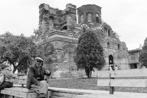 NL Mellin 01-071/0010, Pantokratorkirche in der Altstadt von Nessebar, Bulgarien, ohne Datum