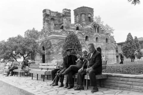 NL Mellin 01-071/0011, Pantokratorkirche in der Altstadt von Nessebar, Bulgarien, ohne Datum