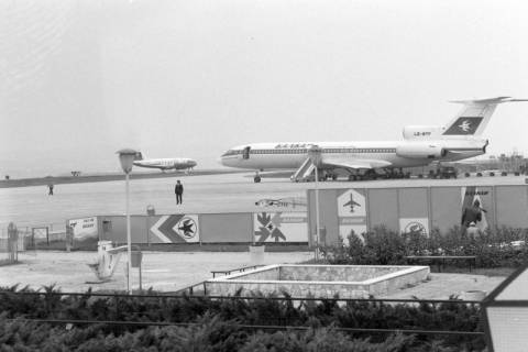 ARH NL Mellin 01-071/0021, Flughafen in Burgas (Bulgarien), ohne Datum