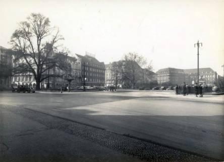 ARH Slg. Mütze 021, Ernst-August-Platz vor dem Umbau, Hannover, vor 1938