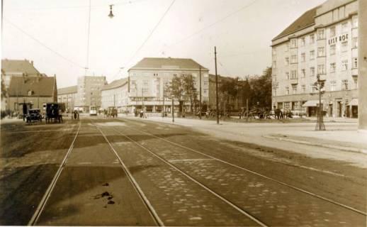 ARH Slg. Mütze 029, Podbielskistraße nach Umbau im Jahre 1936, Hannover, 1936