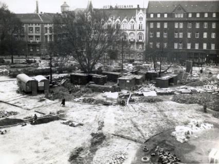 ARH Slg. Mütze 038, Umbau des Ernst-August-Platzes, Hannover, 1938