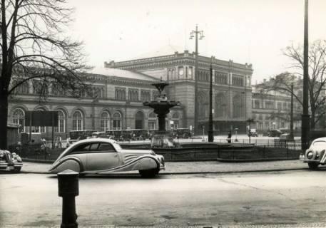 ARH Slg. Mütze 043, Ernst-August-Platz, Hannover, vor 1938