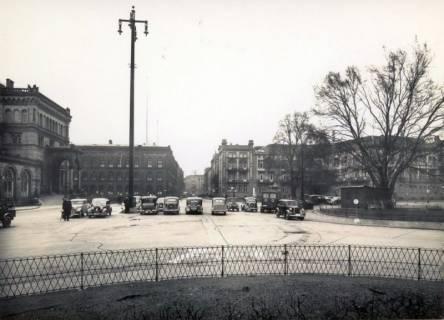 ARH Slg. Mütze 044, Ernst-August-Platz mit Blick zur Joachimstraße, Hannover, vor 1938