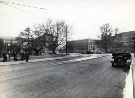 ARH Slg. Mütze 045, Ernst-August-Platz mit Blickrichtung Joachimstraße, Hannover, vor 1938
