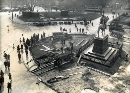 ARH Slg. Mütze 048, Umbau des Ernst-August-Platzes, Hannover, 1938
