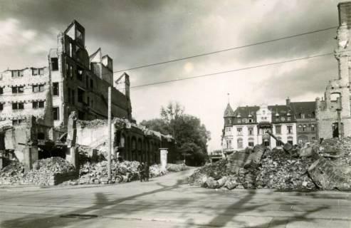 ARH Slg. Mütze 059, Blick in die Brüderstraße, Hannover, ohne Datum
