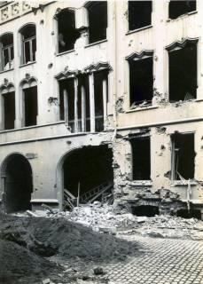 ARH Slg. Mütze 060, Erster Bombenabwurf und Schäden in der Seilerstraße 10, Hannover, 1940