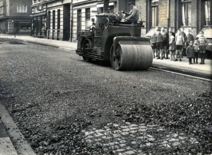 ARH Slg. Mütze 067, Straßenbau Mitte der dreißiger Jahre, Hannover, um 1935