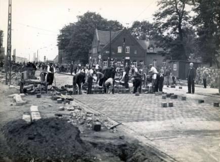 ARH Slg. Mütze 075, Umbau und Erweiterung der Podbielskistraße, Hannover, 1936