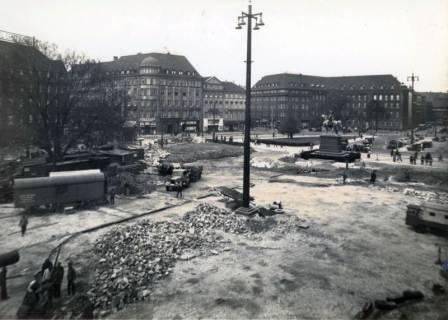 ARH Slg. Mütze 081, Umbau des Ernst-August-Platzes, Hannover, 1938