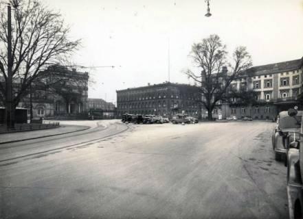 ARH Slg. Mütze 082, Ernst-August-Platz vor dem Umbau 1938, Hannover, vor 1938
