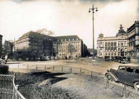 ARH Slg. Mütze 084, Ernst-August-Platz vor dem Umbau 1938, Hannover, vor 1938
