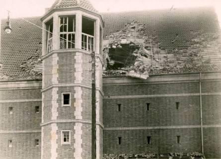 ARH Slg. Mütze 105, Bombentreffer am Luftschutzbunker Bahnhofstraße, Misburg, 1944