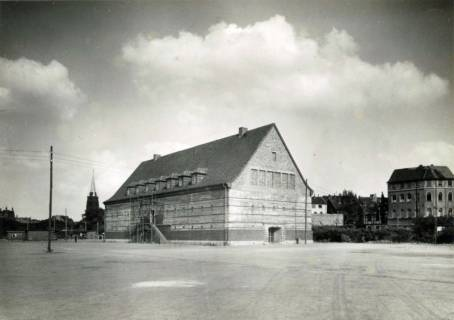 ARH Slg. Mütze 114, Luftschutzbunker an der Celler Straße, Oststadt, 1944