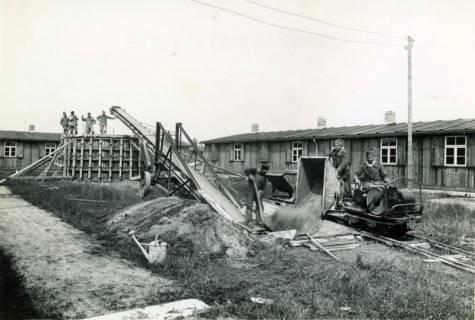 ARH Slg. Mütze 115, Bau von Splitterbunkern, Bothefeld, 1943