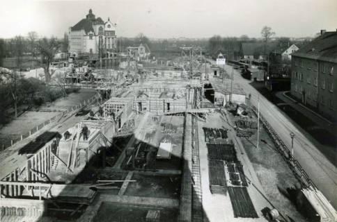 ARH Slg. Mütze 124, Baustelle des Luftschutzbunkers Dühringstraße, Hainholz, 1943
