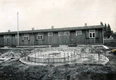 ARH Slg. Mütze 127, Fundament eines Splitterbunkers, Bothfeld, 1941