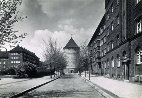 """ARH Slg. Mütze 128, Luftschutzbunker """"Hoffmann-von-Fallersleben Straße"""", Hannover, vor 1945"""