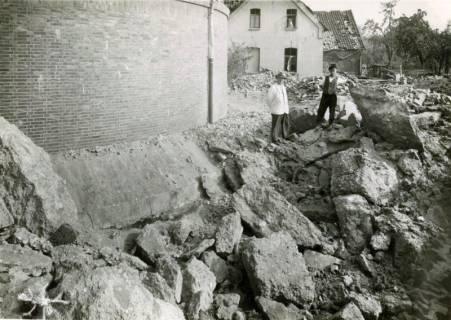 ARH Slg. Mütze 129, Nahtreffer am Luftschutzbunker Hannoversche Straße, Misburg, 1944