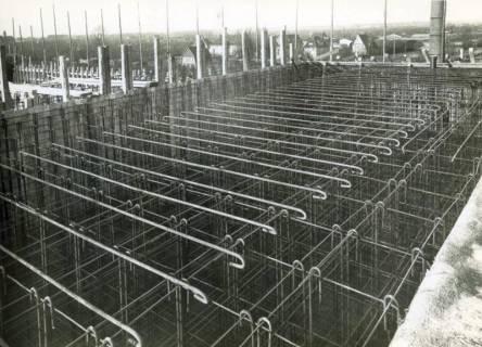 "ARH Slg. Mütze 144, Armierung am Luftschutzbunker ""Botfelder Straße"", List, 1942"