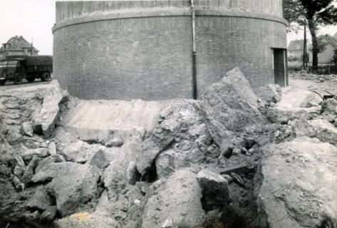 ARH Slg. Mütze 148, Nahtreffer am Luftschutzbunker Hannoversche Straße, Misburg, 1944