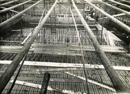 """ARH Slg. Mütze 150, Baustelle des Luftschutzbunkers """"Höfestraße"""", List, 1940"""