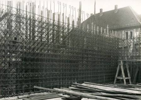 ARH Slg. Mütze 153, Baustelle des Luftschutzbunkers Bunnenbergstraße, Hainholz, 1941