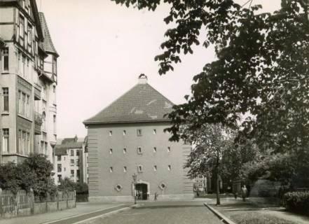 ARH Slg. Mütze 174, Luftschutzbunker Pfarrlandplatz, Linden, zwischen 1941/1945